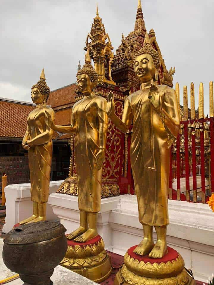 Visiting Wat Phrathat Doi Suthep Chiang Mai