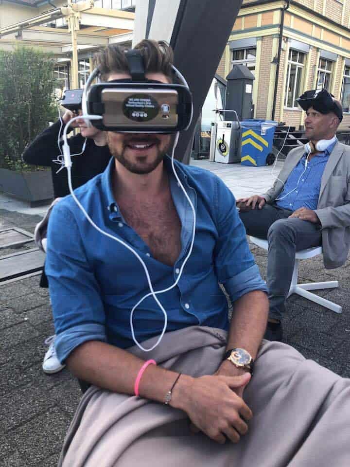 Kino Am Berg Virtual Reality Open Air Cinema Zurich