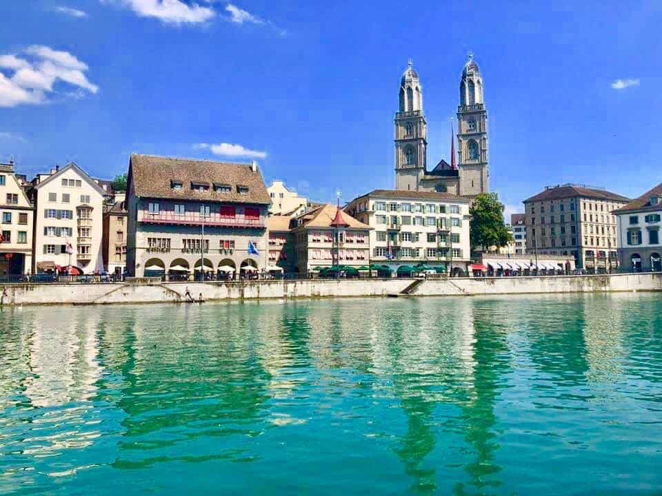 Zurich in late July