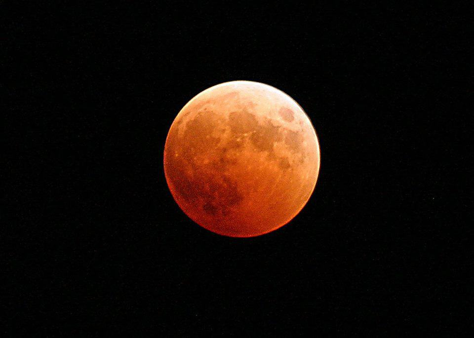 Blood Moon - Longest Lunar Eclipse of 21st Century