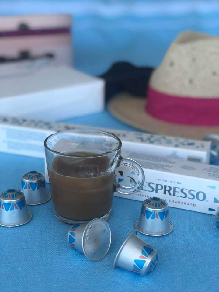 Nespresso Caffè Alla Salentina Iced Coffee & Almond Milk
