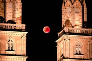 Blood Moon - Longest Lunar Eclipse Tim Hughes