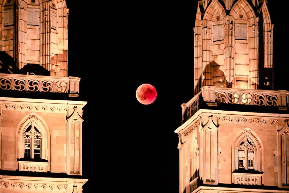 Blood Moon - Longest Lunar Eclipse Tim Hughes
