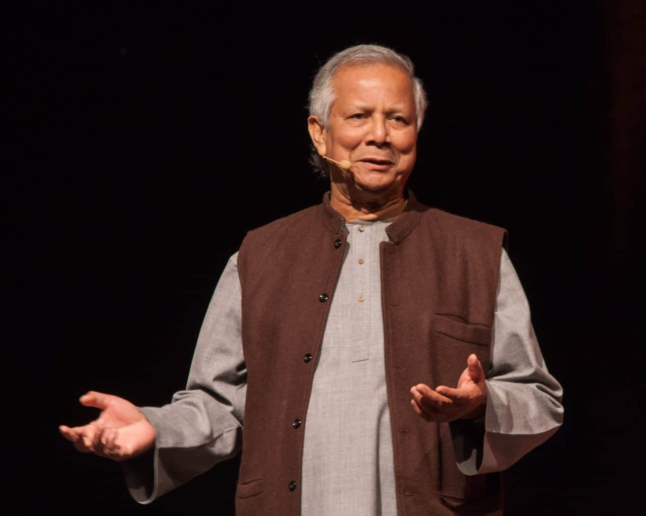 Professor Muhammad Yunus speaker at GENNEX Zurich