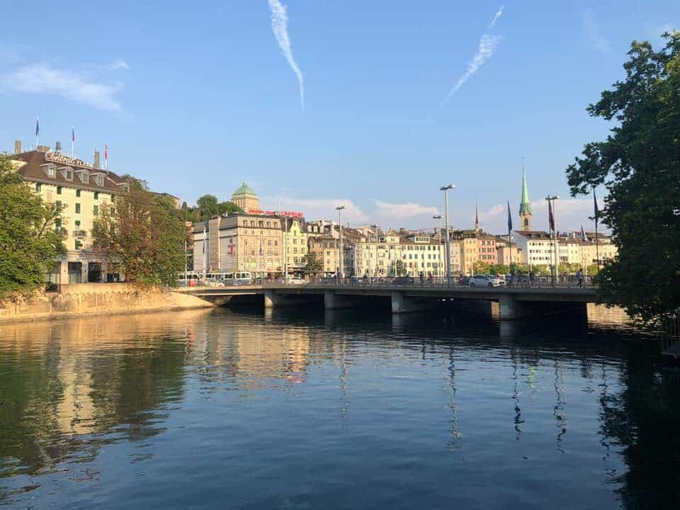 What To Do in Zurich Early August 2018 Onwards