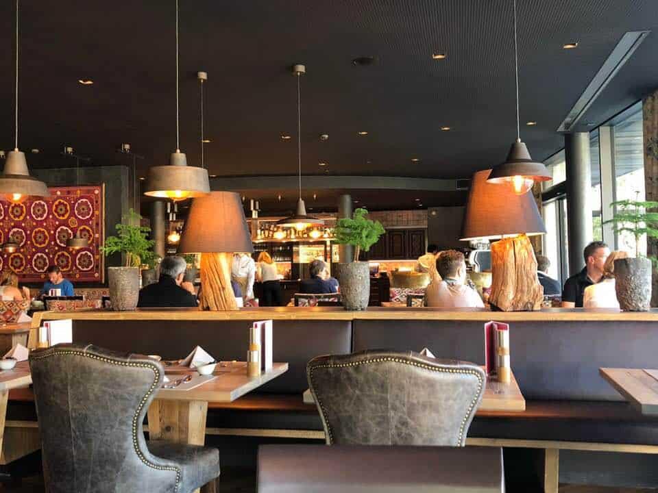 Twist Restaurant at Hotel Valsana Arosa