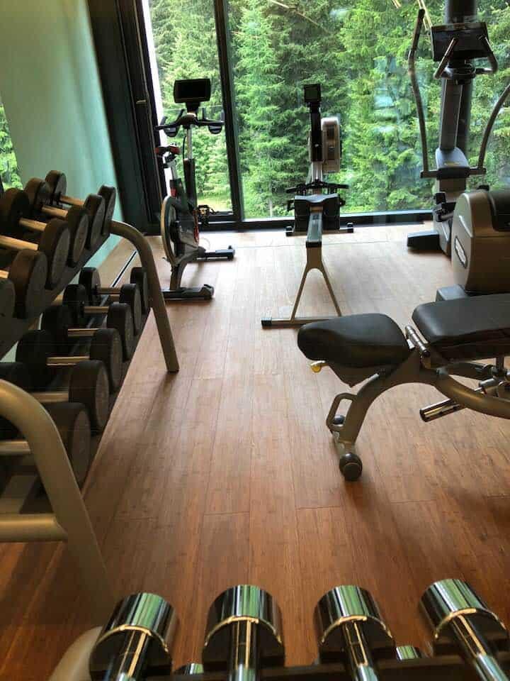 Gym at Hotel Valsana Arosa