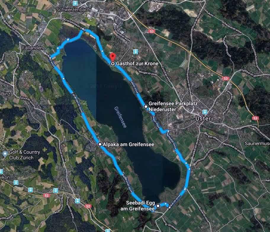 Greifensee round trip