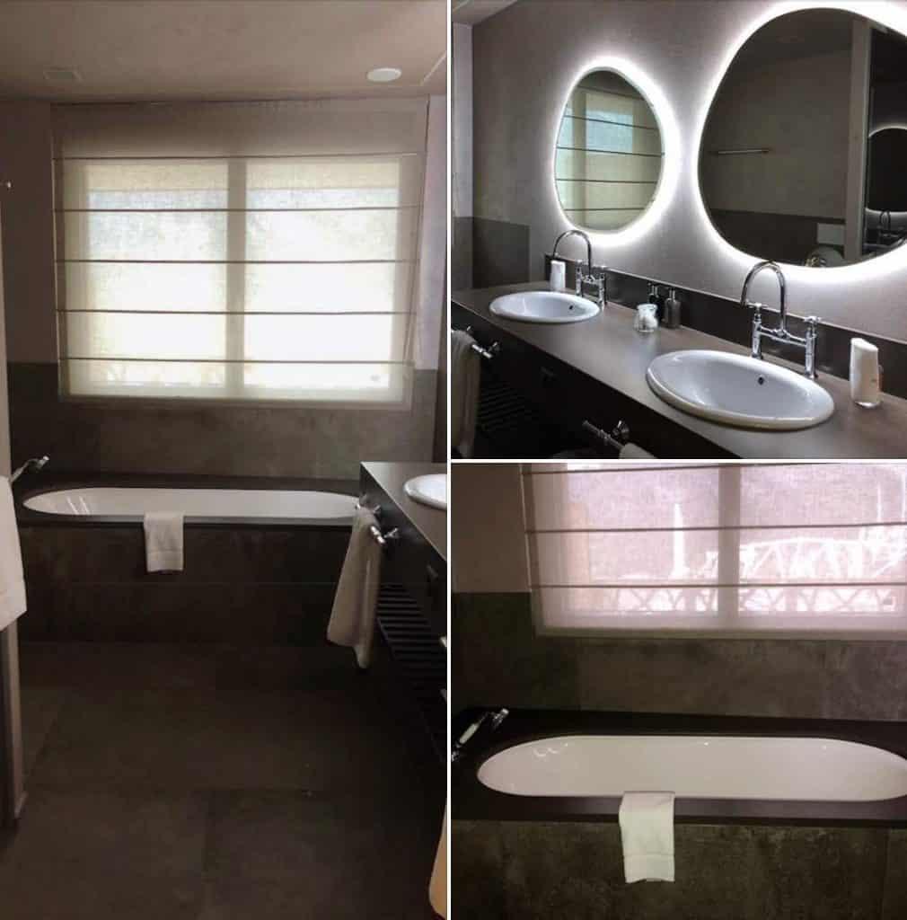 Bathroom at Hotel Valsana Arosa Switzerland