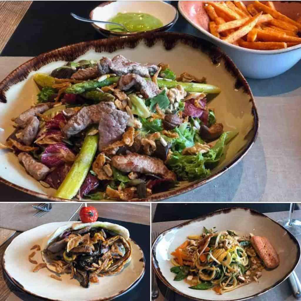 Lunch at Twist Restaurant Hotel Valsana Arosa