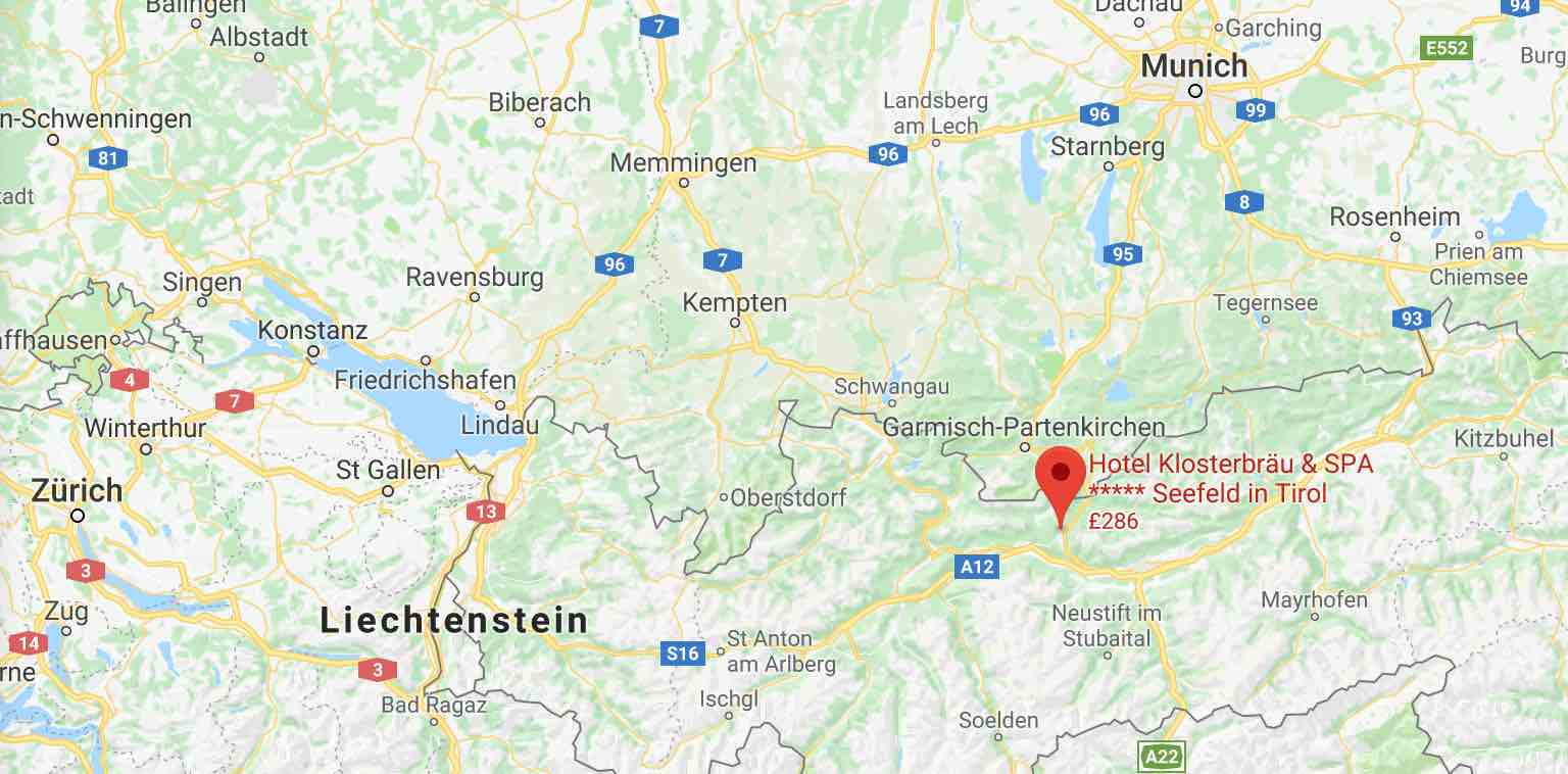 Hotel Klosterbraü on Google Maps