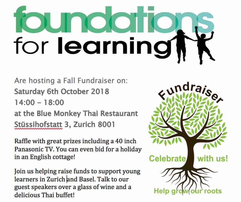 Foundations for Learning Fall Fundraiser