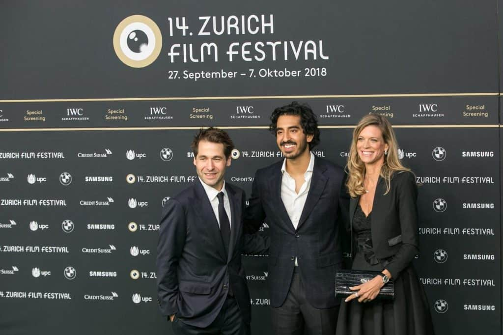 Dev Patel at Zurich Film Festival