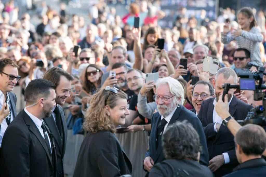 Donald Sutherland at Zurich Film Festival
