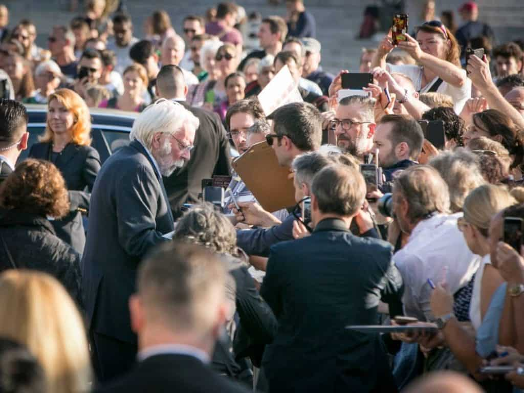 Donald Sutherland at Zurich Film Festival