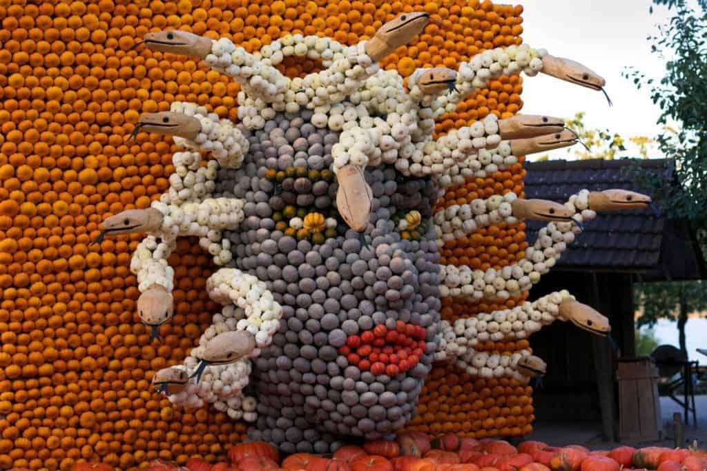 Jucker Farm Pumpkin Exhibition - Mythical Figures