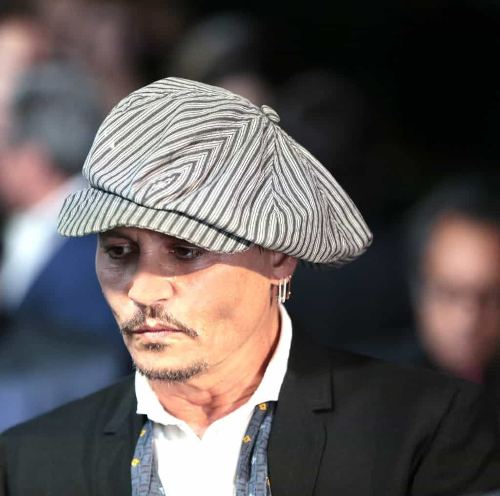 Johnny Depp Zurich film festival 2018
