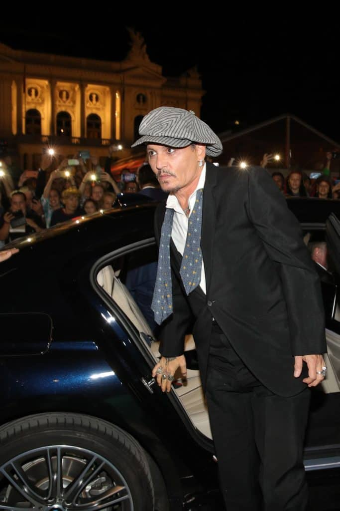 Johnny Depp Zurich Film festival