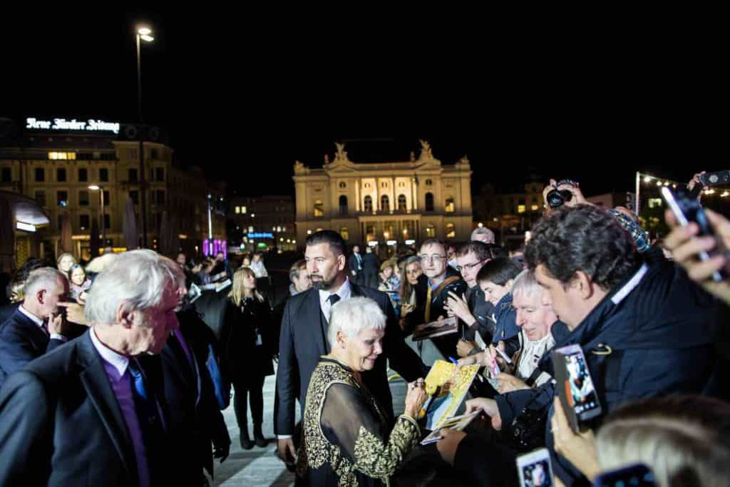 Judi Dench at Zurich Film Festival