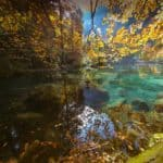 Autumn Glory at Blausee Switzerland