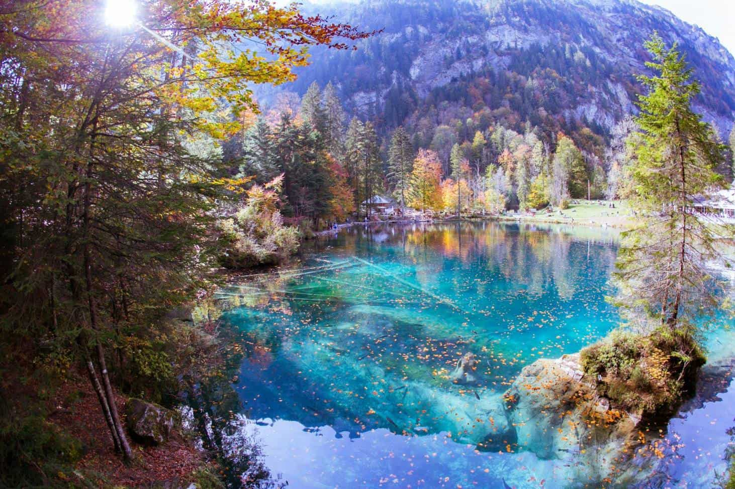 Blausee In Its Autumn Glory - A Must See Fall Excursion