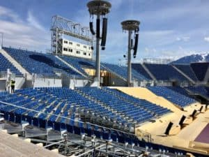 Stadium at Fête Des Vignerons 2019 Vevey Switzerland