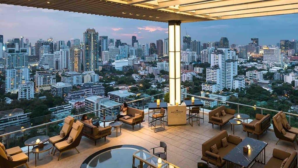 The Marble bar at the 137 Suites Hotel Bangkok