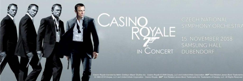 James Bond at Samsung Hall Zurich