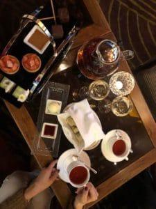 Afternoon Tea at Park Hyatt Zurich