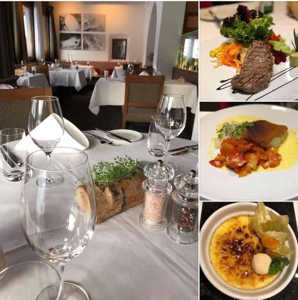Restaurant at Hotel Arabella Waldhuus Davos