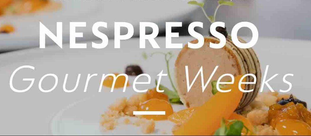 Nespresso Gourmet weeks