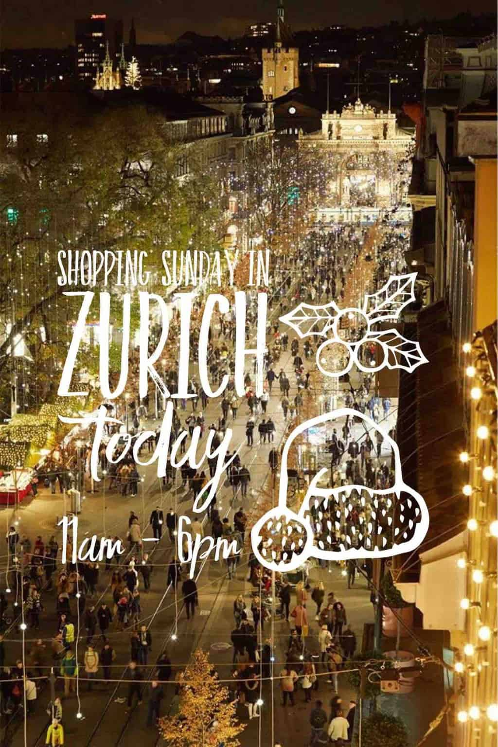 What's On in Zurich Christmas 2018 and Beyond