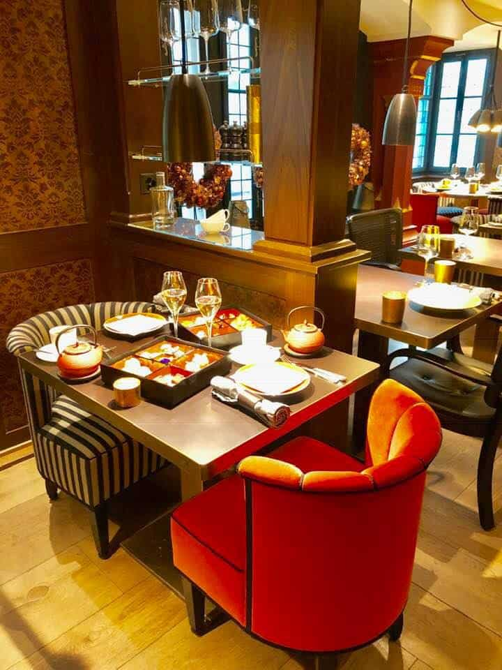 Afternoon Tea at the Widder Hotel Zurich