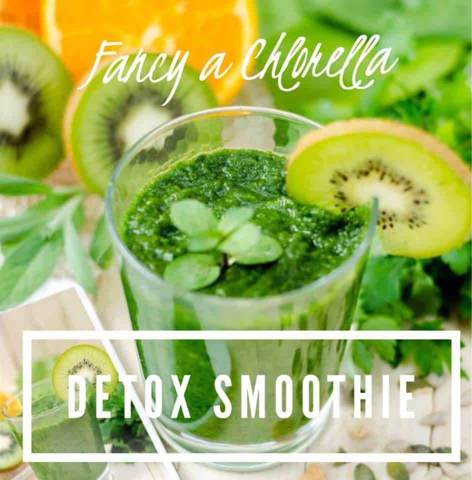 Detox Smoothie with Chlorella