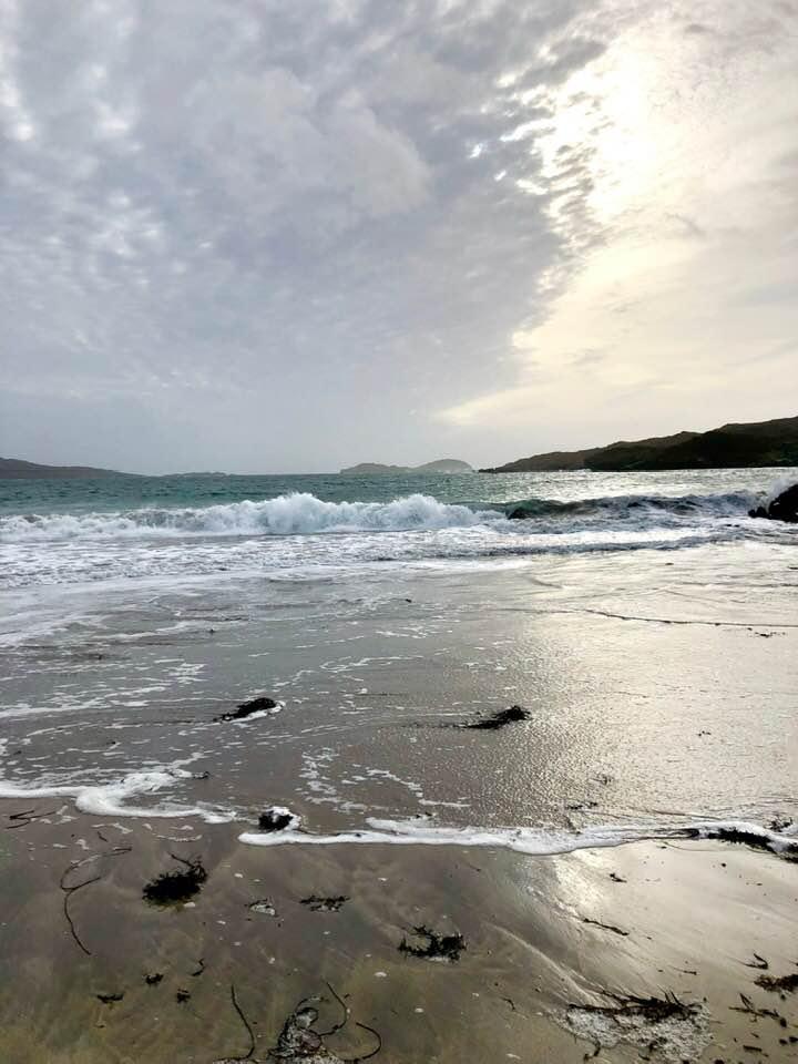 Derrynane beach near Parknasilla Hotel Southern Ireland
