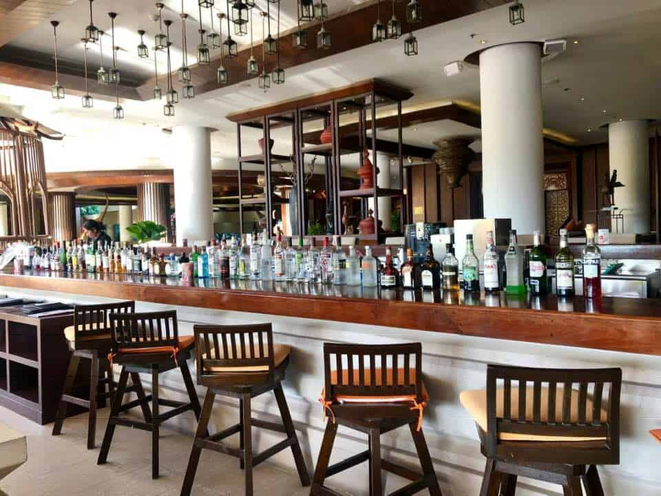 Bar at Mövenpick Resort & Spa Karon Beach Phuket Thailand