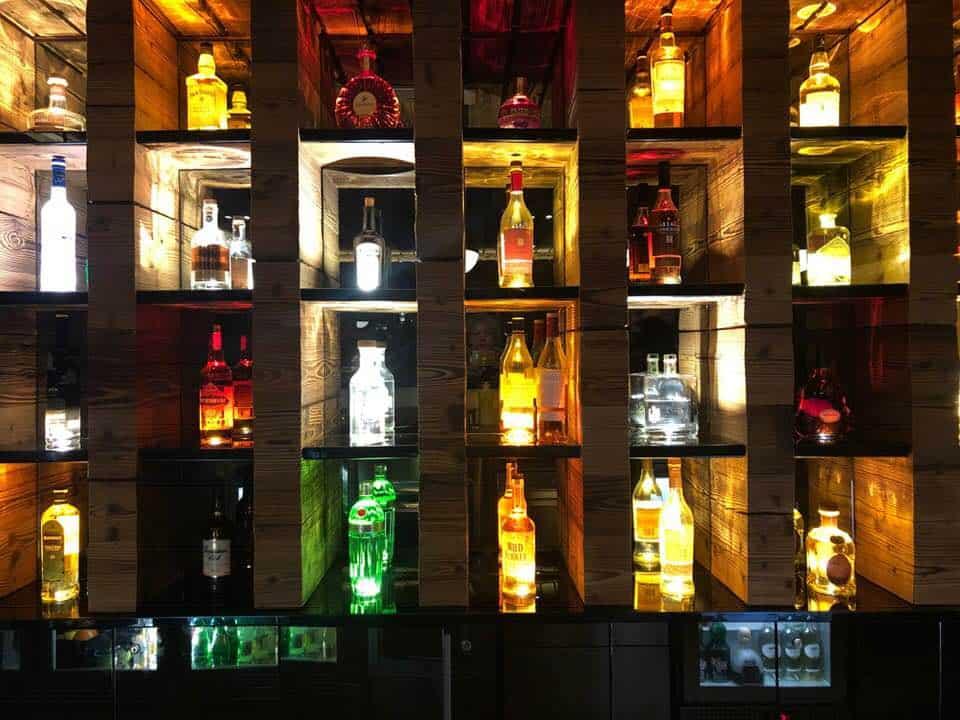 Moon Bar at Boutique Hotel Chandolin Switzerland