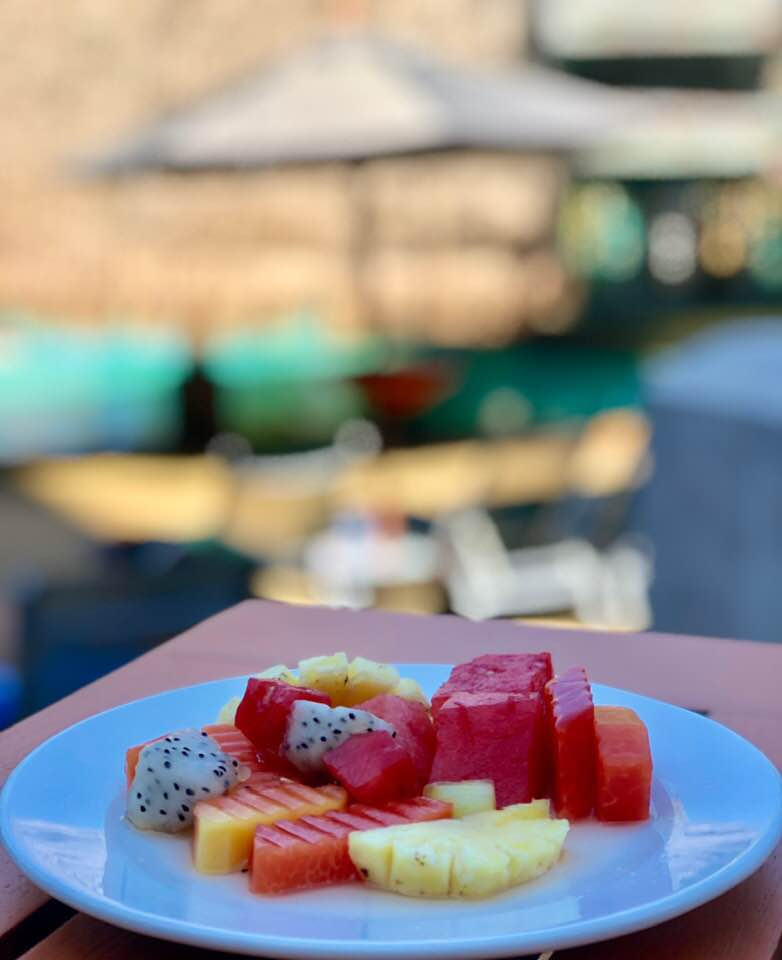 Fresh fruit at Mövenpick Resort & Spa Karon Beach Phuket Thailand