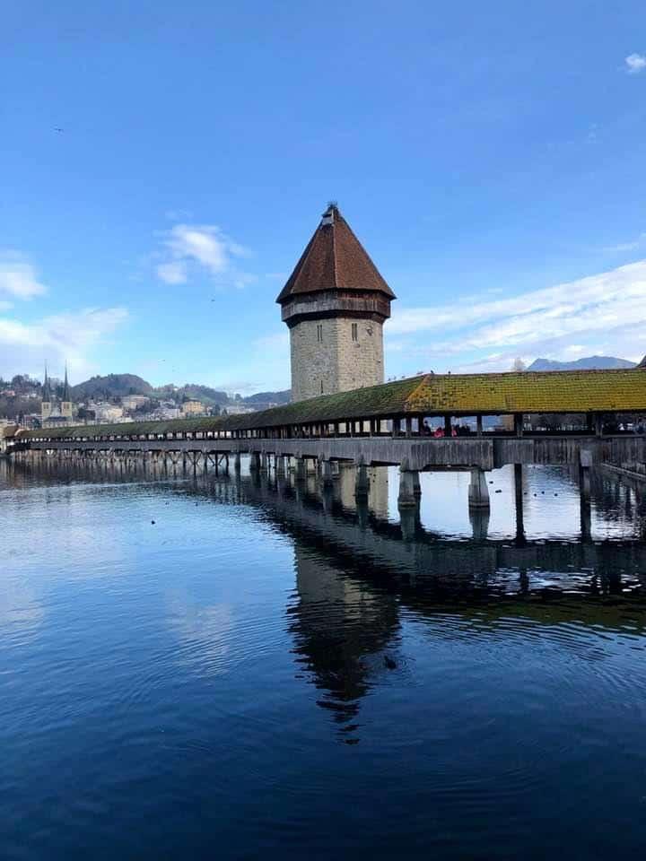 Kapellebrücke Lucerne Switzerland