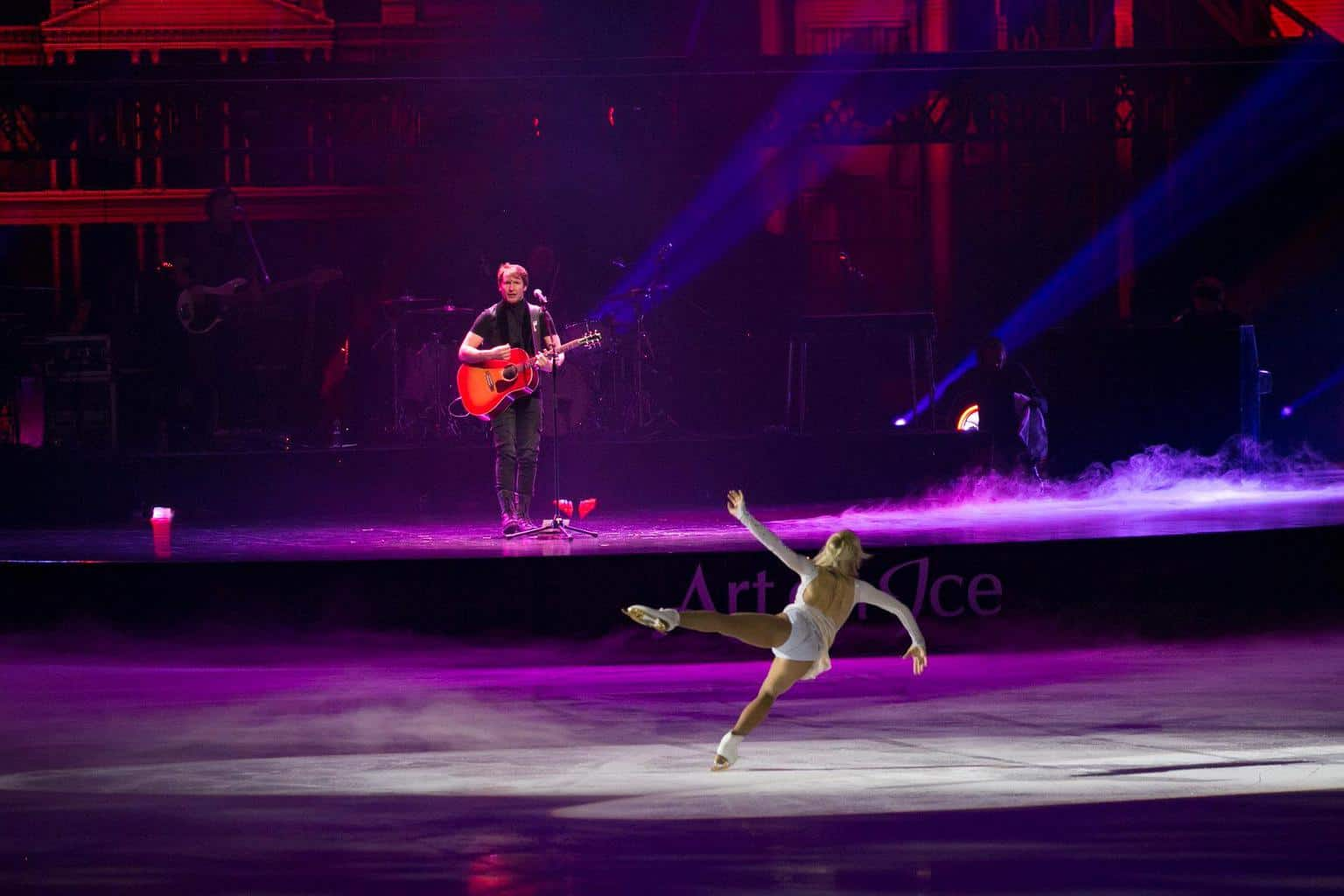 James Blunt Art On Ice Zurich 2019