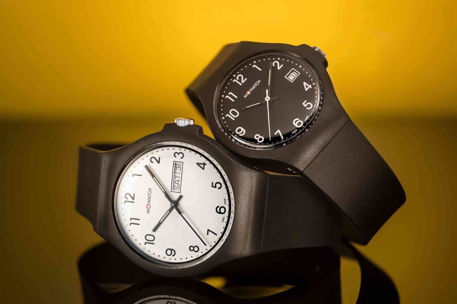 The Mondaine M + WATCH Collection