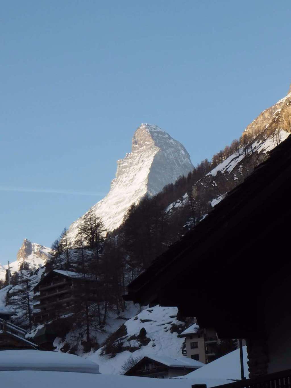 Hotel Schweizerhof Zermatt view of Matterhorn