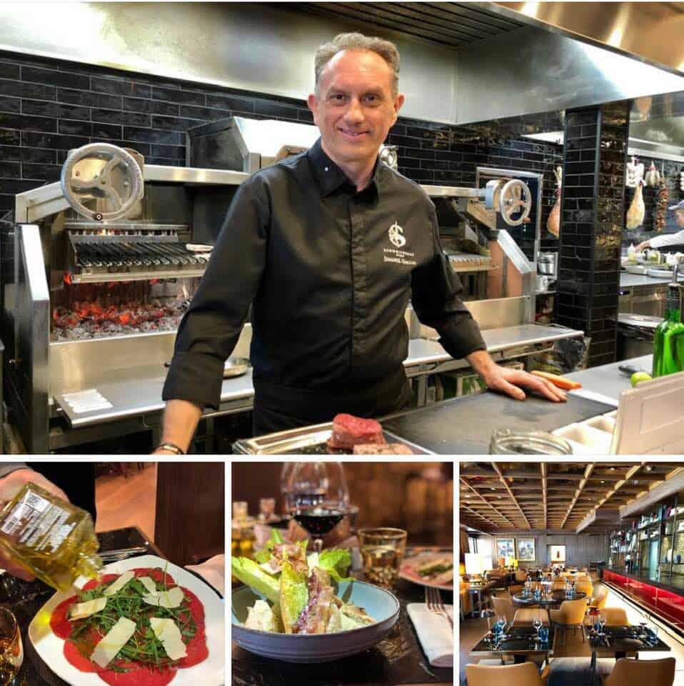 Chef Emmanuel Horcois at Hotel Schweizerhof Zermatt