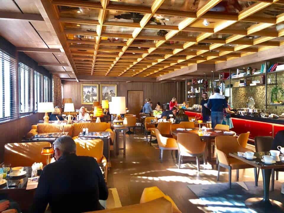Breakfast at La Muña Hotel Schweizerhof Zermatt