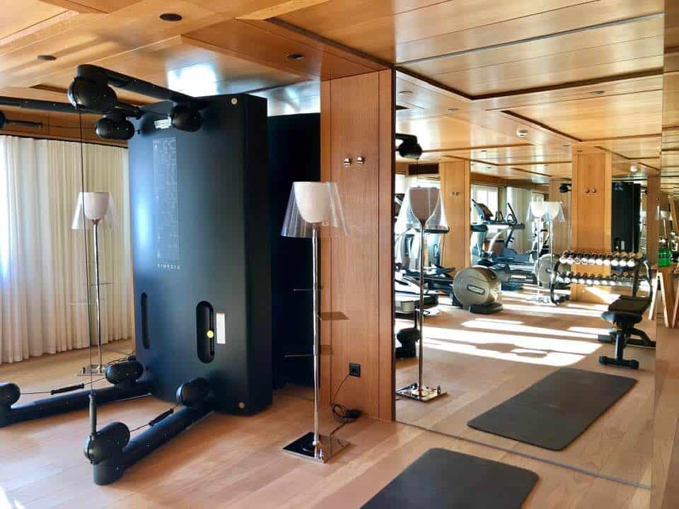 Gym at Hotel Schweizerhof Zermatt