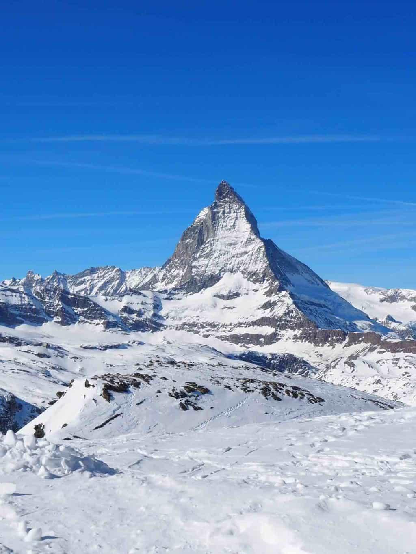 Hotel Schweizerhof Zermatt and the Matterhorn