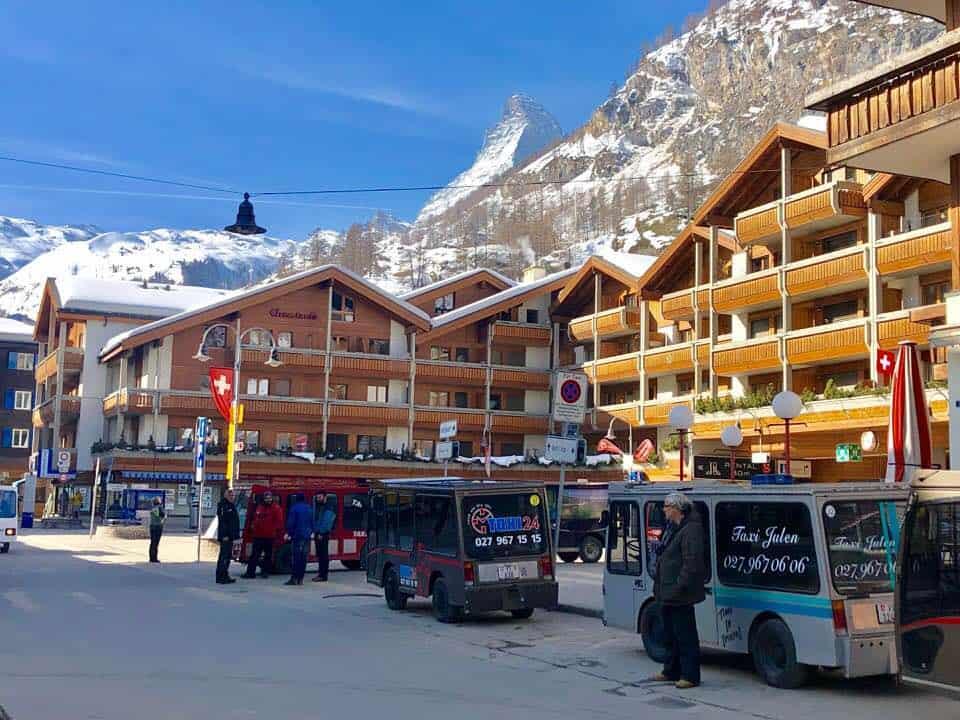Hotel Schweizerhof Zermatt 2 minutes walk from Zermatt train station