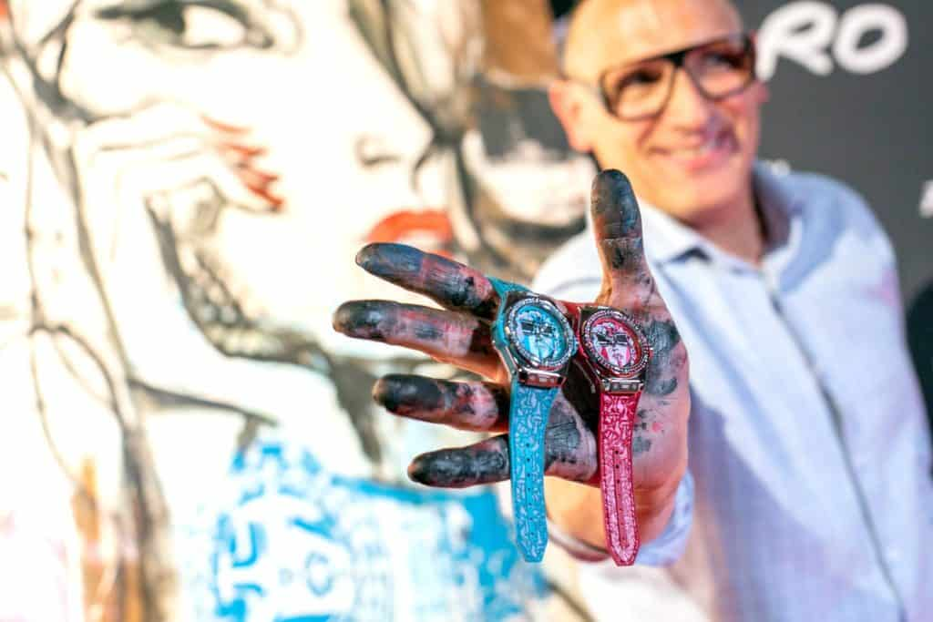 Marc Ferrero and hublot baselworld