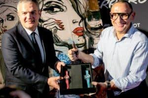 ricardo guadalupe and Marc Ferrero and hublot baselworld