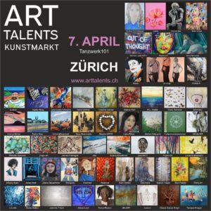 ART TALENTS ART KUNSTMARKT ZURICH